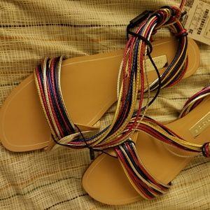 Zara Mulicolored Sandal
